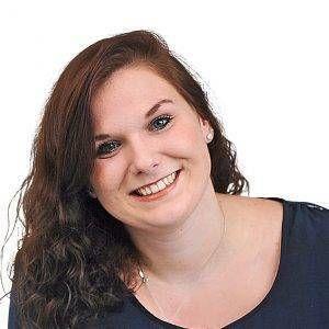 Lena Flecke im Prüfungsausschuss der IHK