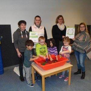 """Haus der kleinen Forscher – Unser """"Patenkind"""" Kita Dinkelnest zum zweiten Mal ausgezeichnet"""