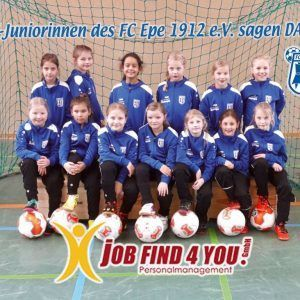 Job find 4 you sponsert neue Trainingsanzüge