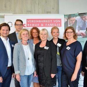 Mit Social Media neue Fachkräfte gewinnen und binden – Angela Frank und Thomas Buß beim gemeinsamen Austausch in Gescher