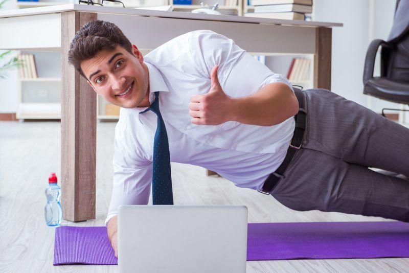 5 Tipps wie Sie Ihren Büroalltag, mit kleinen Veränderungen, gesundheitlicher gestalten können