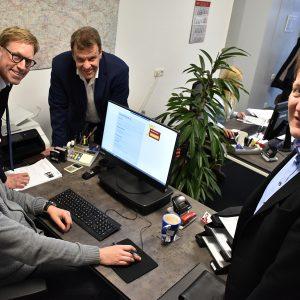 Marc Henrichmann, Mitglied des Bundestages, zu Gast in unserer Niederlassung Dülmen