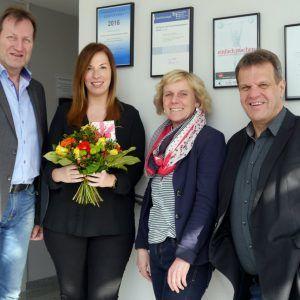 Erfolgreicher Abschluss des Zertifikatlehrgangs zur Personalreferentin (IHK) – wir sagen herzlichen Glückwunsch, Mareen