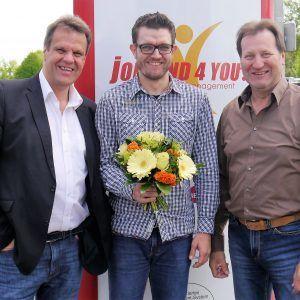 10 Jahre Job find 4 you: Die Erfolgsgeschichte von  Marcel Kemper
