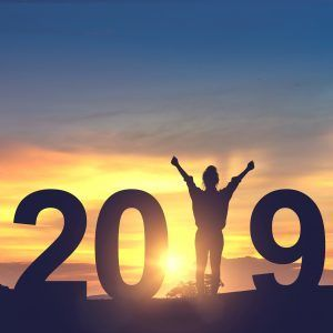 Begrüßen Sie das Jahr mit offenen Armen