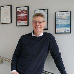 Ein Kommunikations- und Organisationstalent! Herzlich Willkommen Günter Hovestadt