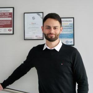Unser Vertriebsteam wächst weiter – Wir freuen uns auf Daniel Goroschko (24)